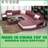 Sofá moderno em forma de U branco