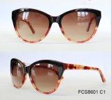 De hoogste Nieuwe Verse Kleur van de Goede Kwaliteit Dame Acetate Sunglasses