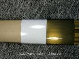 Cataphoresis personnalisé ou profil en aluminium d'extrusion de Champagne anodisé par satin