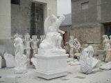 Standbeeld Mej.-019 van de Tuin van het Standbeeld van de Steen van het Standbeeld van het standbeeld Marmeren