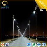 Iluminación del camino de la carretera y la luz de calle Poste de Acero