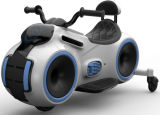 Motocicleta elétrica de 2017 miúdos novos com rodas de borracha
