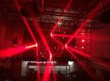 9X15W RGBW 4in1 LED 광속 세척 이동하는 맨 위 빛