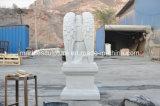 Memoriale di pietra bianco del marmo della scultura di Carrara (SY-M001)