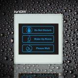 El panel de interior del sistema del timbre del hotel en el marco plástico del esquema (SK-dB2300SIN3)