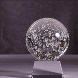 шарик 3D выгравированный лазером кристаллический и шарик домашнего украшения кристаллический