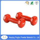 Pintura em pó vermelho para equipamentos de fitness