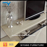Mobilier chinois Marbre TV Stand in Living Room