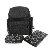 Водоустойчивый Backpack мешка пеленки с планками прогулочной коляски, влажным мешком и пусковой площадкой пеленки изменяя