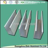 Aluminium verschobene ue-förmig Leitblech-Decke