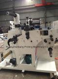 Machine rotatoire de découpage et de fente avec le rebobinage de tourelle