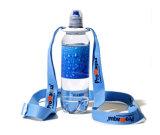Regalos promocionales botella de agua titular de la cuerda de seguridad