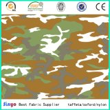 Camouflage africain imprimé numérique Oxford 600d tissu pour sacs à dos militaires