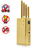 Gpsl Portable1 3G Signal cellulaire jammer avec couleur dorée