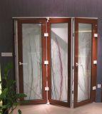 Schalldichte UPVC Bifolding Tür/Akkordeon-Tür (BHP-AD01)