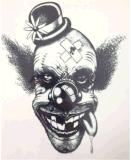 De modieuze Donkere Zwarte Tijdelijke Sticker van de Tatoegering van de Kunst van de Sticker van de Tatoegering
