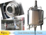Réservoir de mélange d'acier inoxydable avec des lames de dispersion