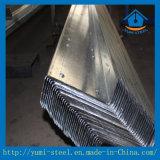 Aço de aço da seção dos Purlins Z da qualidade para a telhadura do metal