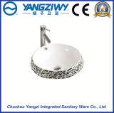 Bacino sanitario di ceramica di arte degli articoli (YZ1308)