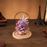 La promozione ha conservato il fiore in vetro per il regalo