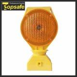 En ámbar de la base de PP 6pzas super brillante LED de luz de la seguridad del tráfico