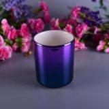 Sostenedor de vela de cerámica de Ombre
