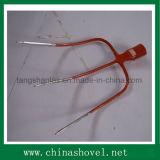 Gabel, die Handwerkzeug-Stahlgabel-Kopf bewirtschaftet