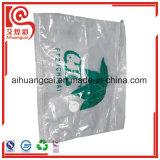 La bolsa de plástico de empaquetamiento al vacío del almacenaje de la ropa con el Ziplock