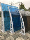 Coperchio di plastica resistente della pioggia del portello del vento impermeabile del baldacchino per il balcone