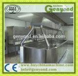 Macchina di fabbricazione del formaggio della mozzarella dell'acciaio inossidabile