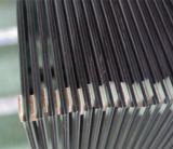 Verre feuilleté gris teinté pour la décoration de meubles de construction