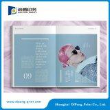 서비스를 인쇄하는 오프셋 여자 잡지