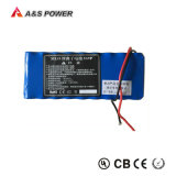 18.5V 18Ah 18650 Pack de batterie au lithium-ion Li-ion rechargeable