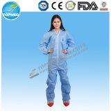 Combinaison remplaçable/vêtement protecteur combinaison non-tissée