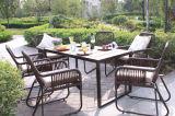 여가 등나무 테이블 옥외 가구 6