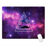Estilo de pintura a óleo Anti-Fray Cloth Gaming Mouse Pad, Extended