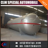 Low Price 80cbm 33mt Horizontal Gas Tanker Gas Storage Tank