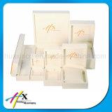 높은 피아노 광택 나무로 되는 보석 전시 포장 상자