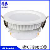 Luz de teto LED Downlight Spotlight Fixação de iluminação embutida para baixo 7W / 12W