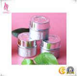 Tarro de crema cosmética de lujo de un solo tamaño