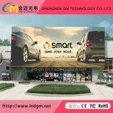 Visualización de LED de la pared P10 Digitaces/publicidad de pantalla a todo color video comerciales al aire libre
