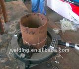 外の取付けられた電気軌道金属のステンレス鋼の管の切断および斜角が付く機械