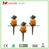 De mini Staken van het Beeldje van het Fruit van de Mango Polyresin voor de Decoratie van het Huis en van de Tuin