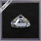Wholsale Preis Vvs E/F Farben-Strahlungs-Schnitt Moissanite Steine für Form-Halskette