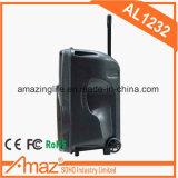 Temeisheng com o altofalante portátil Al1232 da fábrica do Mic do fio