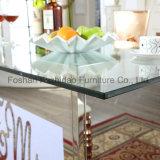 Светодиодный индикатор Стол обеденный стол свадьбы из нержавеющей стали,