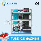 Máquina de hielo del tubo de Koller con el control 5tons/Day popular caliente (TV50) del PLC de Siemens
