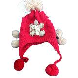 冬は羊毛の帽子の最高のスローチハットをからかう