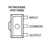 Circuito integrato Ua78L05acpk del regolatore lineare CI