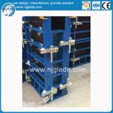 Coffrage modulaire d'acier de panneau de mur de poids léger